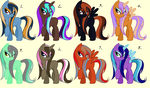 Wet-Maned Mare Adopts #3 ~ 10 Points Each ~ *OPEN* by Adopting-Angels