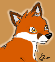 SeraJeria as a Fox by SeraJeria