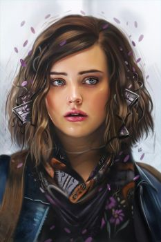 13 Reasons Why (Netflix TV Series) Illustration by vurdeM
