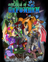 Outlands of Gefunden: Manga Cover 1 by NitroGoblin