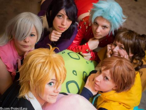 Seven deadly sins by KellywoeshxD
