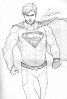 Superman Sketch by tryvor