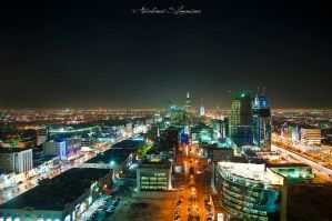 Riyadh at Night by ashamandour