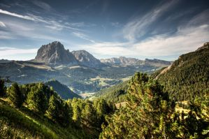 South Tyrol Mountain by wulfman65
