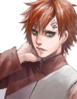 Gaara speed paint by Marimari999