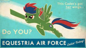 Equestria Air Force by KestrelTown