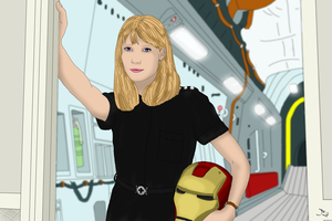 Pepper Potts Colored by DoranBladefist