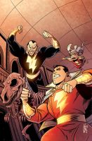 Shazam Cover Colors 14 by heck13r