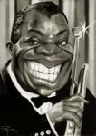 Louis Armstrong by Parpa