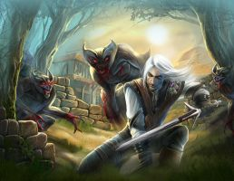 the witcher by SScrust