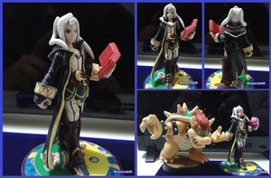 Female Robin amiibo (WIP) by Gregarlink10