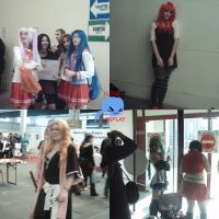 cosplay photos montage by Y-Mangaka