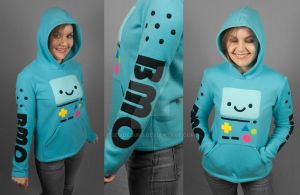 BMO Hoodie by SewDesuNe