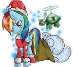 Dashie Stole Chis-Winter by Lyx-D