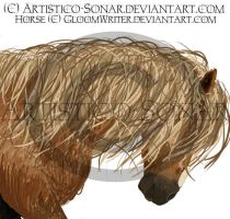Speed Painting :Trotting Horse by Artistico-Sonar