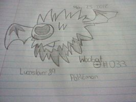 I MADE WOOBAT by Lucaslover89
