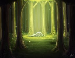 Forest Light by Xelgot