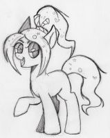 Vanellope pony (original not by me) by otto720