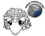 Sneak Peek - World Pangolin Day by demiveemon