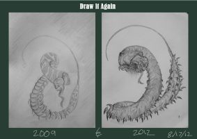 Draw it again Centipede by Lexinator117