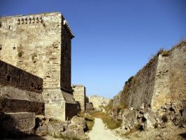 Rhodes Medieval City Wall by silver80