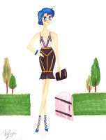 Sailor Mercury Does Fashion Week by fragmentx