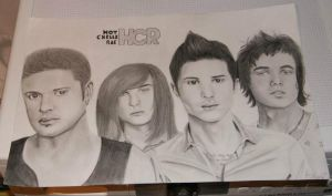 Hot chelle rae by Thessa-drawings