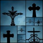 Collage of Crosses 2 by Gothicmama