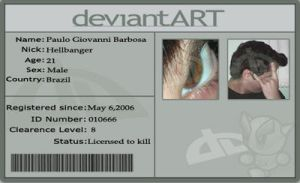 My new ID by hellbanger