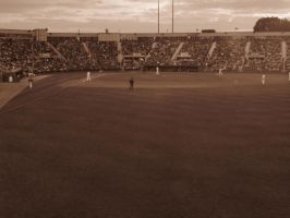 baseball by nodestinationinmind
