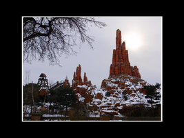 Snowy Big Thunder Mountain by ButterFly-Away