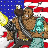 'Merica, eff yeah! by JAKtheTerrible