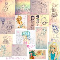 Sketch dump 1 by Clapink