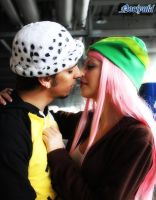 Law and Bonney in Love by MissSnape