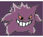 Gengar (SUCK) by xX-Umbreon-Xx