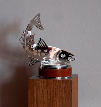 Salmon Candle Holder by inoxdreams