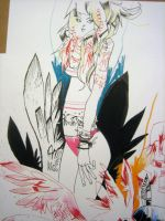 Wings Girl by JimMahfood-FoodOne