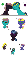 MLP Breedables 3/with Salkineoducky by nancy97