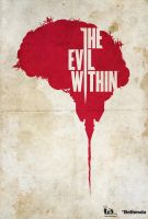 The Evil Within - Minimalist Poster by edwardjmoran