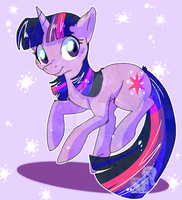 Twilight Sparkle by JB-Pawstep