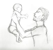 Jeremiah and Son by SaffyLailo
