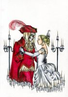 A Waltz With Red Death by Kitty-Grimm