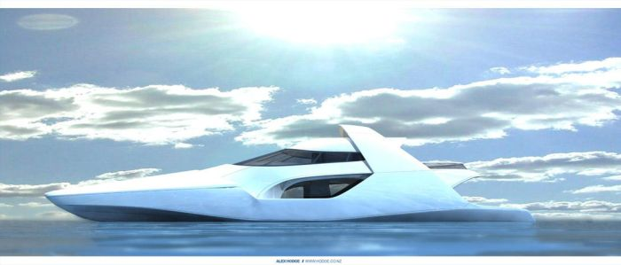 Concept Boat 2 by L-X