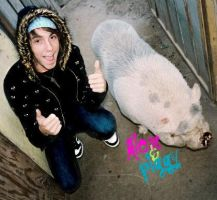alex from all time low and pig by bad-dress