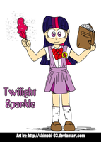 Human Ponies - Twilight Sparkle by SHINOBI-03