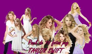 Pack 10 Png Taylor Swift by JuliiDBieber