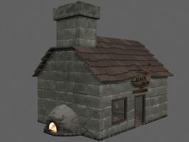 Black Smith house by ness84