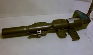 Optimus Prime Ion Rifle by weaselhammer