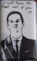 Jim Moriarty iPod by BossHossBones
