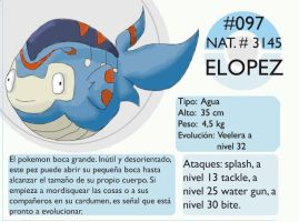 Pokemon Oryu 097 Elopez by shinyscyther